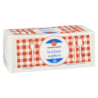 Western Family - Luncheon Napkins 1 ply - White, 500 Each