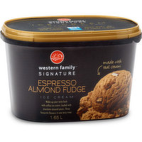 Western Family - Signature Espresso Almond Fudge, 1.65 Litre