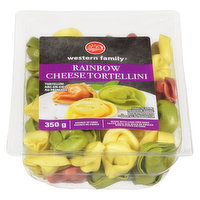 Western Family - Rainbow Four Cheese Tortellini, 350 Gram