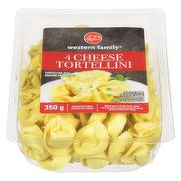 Western Family - Four Cheese Tortellini, Pasta, Fresh