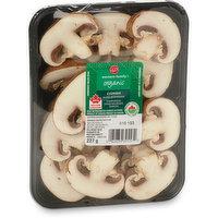 Western Family - Organic Crimini Sliced Mushrooms, 227 Gram