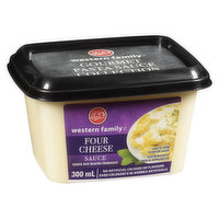 Western Family - Four Cheese Sauce, Fresh