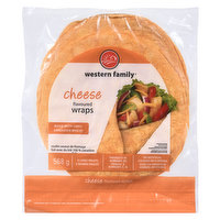 Made with 100% Canadian wheat. 8 large wraps. No artificial colors or flavors, 0 trans fat & 0 cholesterol.