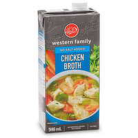 Western Family - Chicken Broth No Salt Added