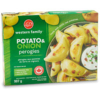 Western Family - Perogies - Potato & Onion, 907 Gram