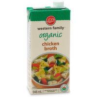 Western Family - Organic Chicken Broth