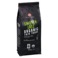 Western Family - Organic Whole Bean Coffee - Smooth Jazz, 400 Gram