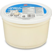 4 Litres Vanilla Ice Cream Pail. 100% Canadian Milk.