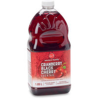 Western Family - Cranberry Black Cherry Juice Cocktail