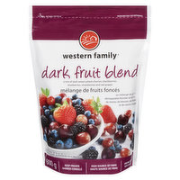 A Mix of Dark, Sweet Pitted Cherries, Strawberries, Blackberries, Blueberries and Red Grapes.
