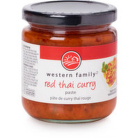 Western Family - Red Thai Curry Paste, 240 Millilitre