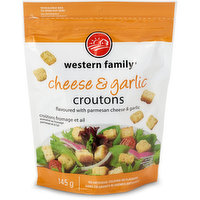 Western Family - Croutons - Cheese & Garlic