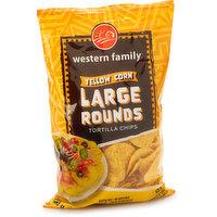 Western Family - Tortilla Chips Yellow Corn, 300 Gram