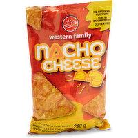 Western Family - Tortilla Chips - Nacho Cheese, 240 Gram