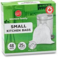 Western Family - Kitchen Bags Regular, 48 Each