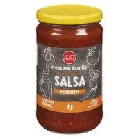 Western Family - Medium Salsa, 650 Millilitre