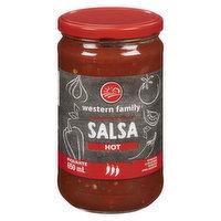 Western Family - Hot Salsa, 650 Millilitre