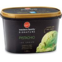 Western Family Signa Western Family Signature - Pistachio Ice Cream, 1.65 Litre