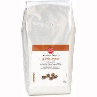 Western Family - Dark Roast Whole Bean Coffee