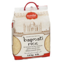 Basmati is a long grain rice with delicate flavor and a nice medium density bite. It is excellent for most Asian dishes, as well as rice pudding and fried rice.