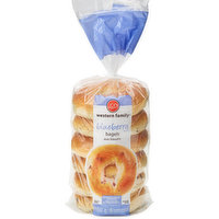 Locally made product. No artificial colors or flavors. 6 sliced bagels.