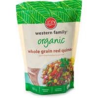 Western Family - Organic Whole Grain Red Quinoa, 907 Gram