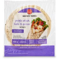 Made with 100% Canadian wheat. No artificial colors or flavors. 8 wraps.