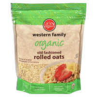 Western Family - Organic Old Fashioned Rolled Oats