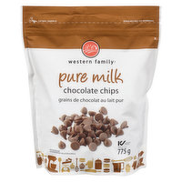 Western Family - Pure Milk Chocolate Chips