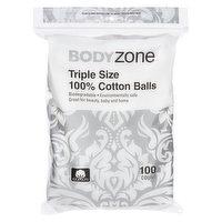 Body Zone - Triple Size 100% Cotton Balls