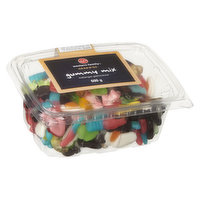An assorted mix of Gummy Candy. Fix your sugar craving with these soft and chewy gummies. There is nothing quite as delicious as fresh and flavourful gummy candy!