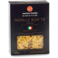 Western Family - Farfalle Bow Tie Pasta