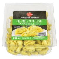 Western Family - Herb Cheese Tortellini, Fresh, 300 Gram