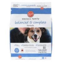 Western Family - Dog Food Balanced & Complete Formula, 14 Kilogram