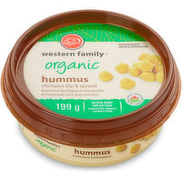 Middle Eastern Style Hummus is made in Canada with Organic Chickpeas, Tahini, Garlic and just the right amount of Lemon.