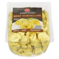 Western Family - Beef Tortellini Pasta, Fresh