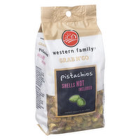 Western Family - Grab N'Go Pistachios Shells Not Included, 235 Gram