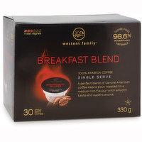 Western Family - Breakfast Blend Single Serve Coffee Pods