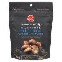 Western Family Western Family - Milk Chocolate Almonds, 180 Gram