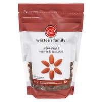 Western Family - Almonds - Roasted & Sea Salted