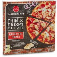 Western Family Western Family - Thin Crust Pizza -Buffalo Style Chicken, 350 Gram