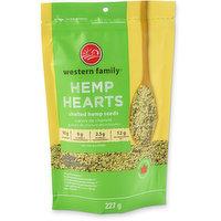 Western Family - Hemp Hearts Shelled Hemp Seeds, 227 Gram