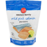 Western Family - Wild Pink Salmon Portions