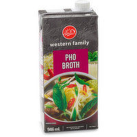 Western Family - Pho Broth, 946 Millilitre