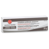 Western Family - Complete Antibiotic Ointment