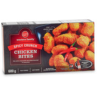 Western Family Western Family - Chicken Bites - Spicy Crunch, 600 Gram