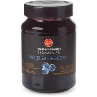 The delectable flavors of fresh wild blueberry in this jam dance on your palate, creating a harmonious balance of simple & sweet. Made with cane sugar. Product of Belgium.