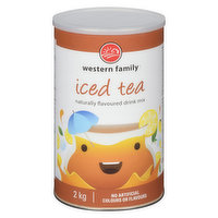 Refreshing beverage for any season! No artificial colors or flavors.