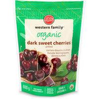 Western Family - Organic Dark Sweet Cherries Pitted, 600 Gram