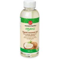 Western Family - Organic Liquid Coconut Oil